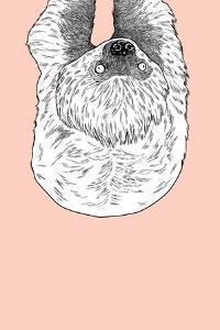 Sloth by Annie Bailey Art