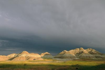 A Storm Passes over Yellow Mounds Overlook