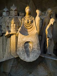 Statues at Gaudi's La Sagrada Familia Cathedral by Annie Griffiths Belt
