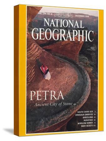 Cover of the December, 1998 National Geographic Magazine