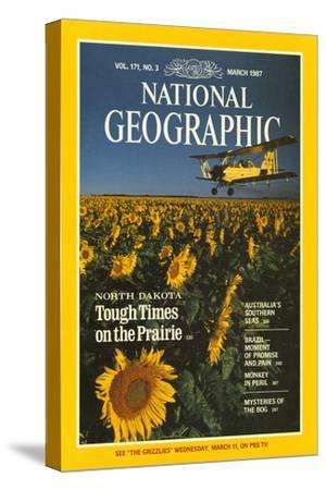 Cover of the March, 1987 National Geographic Magazine