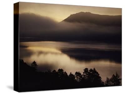 Scenic View of Mist over Derwent Water