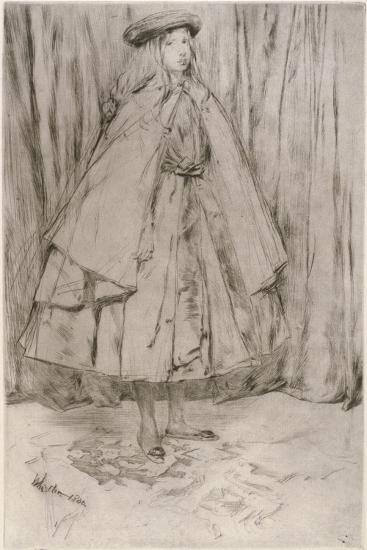 Annie Haden, 1860-James Abbott McNeill Whistler-Giclee Print