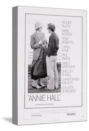 Art print POSTER Canvas Woody Allen and Diane Keaton in Annie Hall