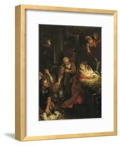 Adoration of the Shepherds by Annie Louisa Swynnerton