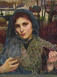 The Dreamer, 1887 by Annie Louisa Swynnerton