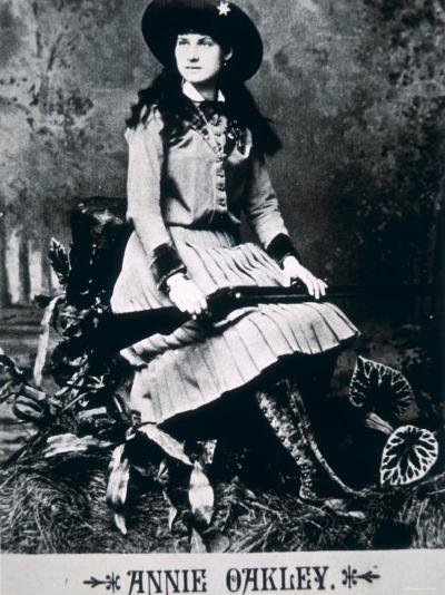 Annie Oakley--Photographic Print