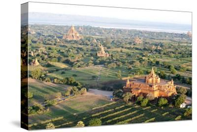 Early Morning Sunshine over the Terracotta Temples of Bagan, Myanmar (Burma)