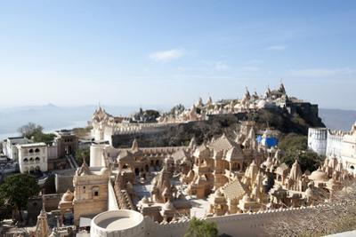 The Sacred Jain Marble Temples, Place of Jain Pilgrimage, Built at the Top of Shatrunjaya Hill
