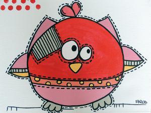 Red Birdz 1 by Annie Rodrigue