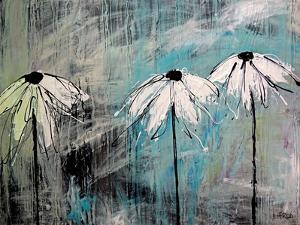 Three Fleurs Blanches by Annie Rodrigue