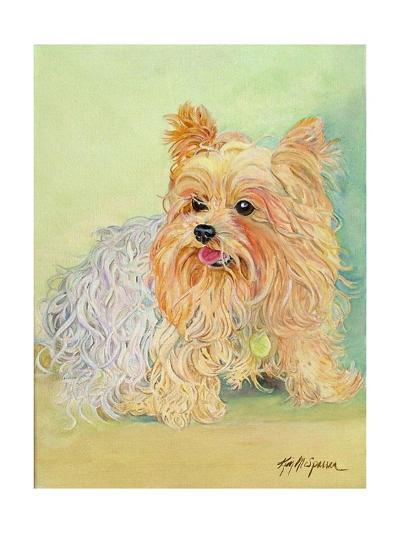 Annie's Yorkie, 2006-Kimberly McSparran-Giclee Print