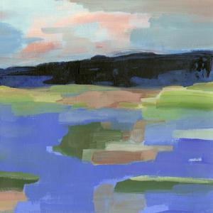 Blue Landing I by Annie Warren