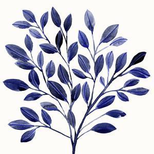 Deep Blue Branch I by Annie Warren