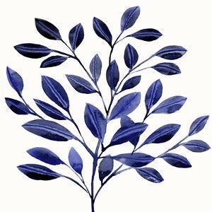 Deep Blue Branch II by Annie Warren