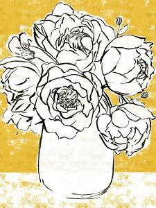Golden Peony I by Annie Warren