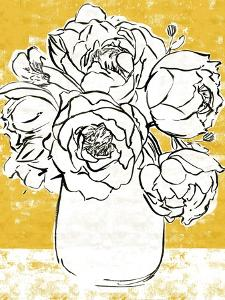 Golden Peony I by Annie Warren