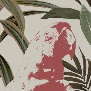 Graphic Tropical Bird IV by Annie Warren