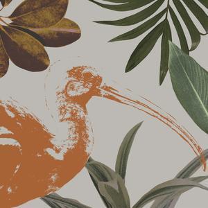 Graphic Tropical Bird VI by Annie Warren
