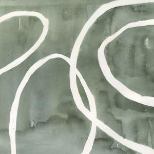 Moss Swirl I by Annie Warren