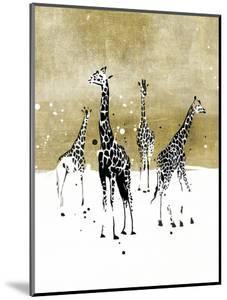 Spotted Giraffe I by Annie Warren