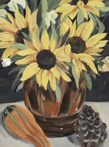 Sunflower Vase II by Annie Warren