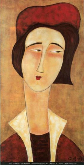 Annie-Guy Mourand-Art Print