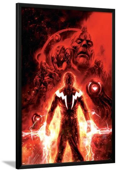 Annihilation: Conquest No.3 Cover: Adam Warlock--Lamina Framed Poster