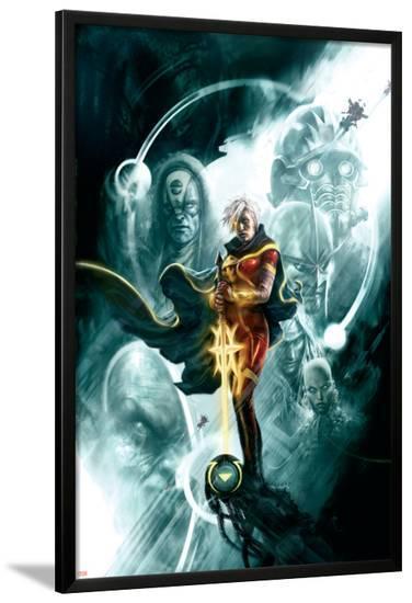 Annihilation: Conquest Prologue No.1 Cover: Quasar--Lamina Framed Poster