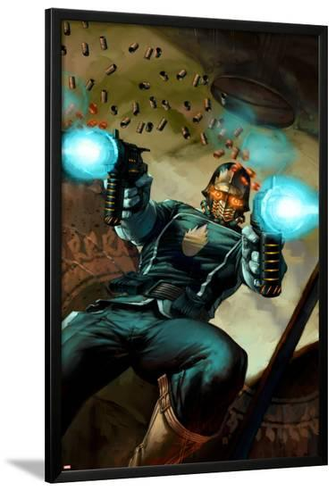 Annihilation: Conquest - Starlord No.1 Cover: Starlord--Lamina Framed Poster