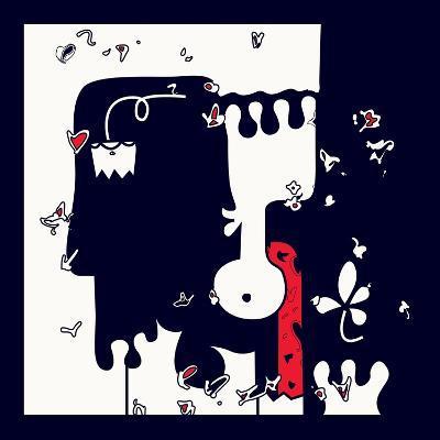 Annimo Down Here--Art Print