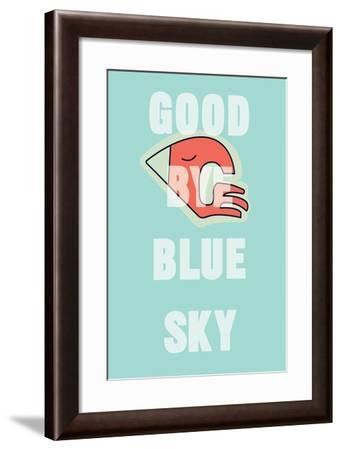 Annimo Goodbye Blue Sky--Framed Art Print