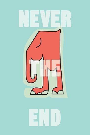 Annimo Never The End--Art Print