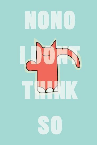 Annimo Nono Man--Art Print