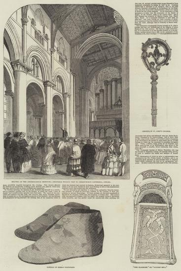 Anniversary Meeting of the Archaeological Institute--Giclee Print