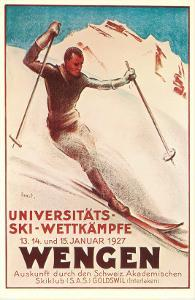 Announcement for Ski Competition