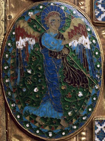 Announcing Angel, Detail from Covers of Gospels of Peace of Chiavenna--Giclee Print