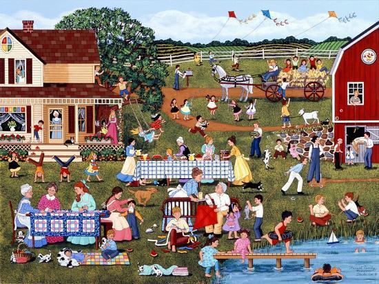 Annual Family Reunion-Sheila Lee-Giclee Print