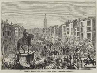 Annual Procession of the Cork Total Abstinence Society--Giclee Print