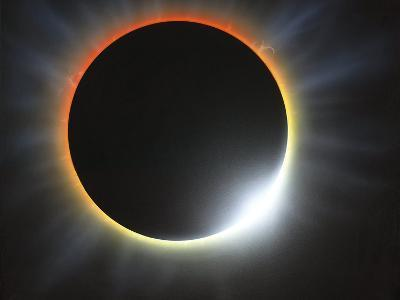 Annular Solar Eclipse, Artwork-Richard Bizley-Photographic Print