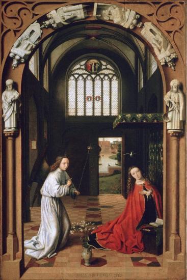 Annunciation, 1452-Petrus Christus-Giclee Print