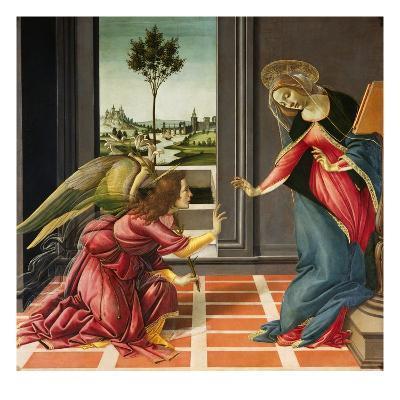 Annunciation (1489-1490)-Sandro Botticelli-Giclee Print
