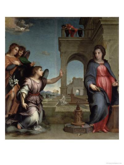Annunciation, 1512-Andrea del Sarto-Giclee Print