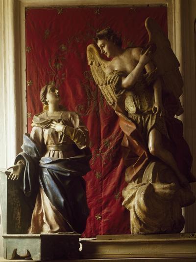 Annunciation, 1565, Polychrome Wooden Group, Church of Santa Maria Dei Lombardi, Novi Velia--Giclee Print
