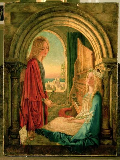 Annunciation, 1859-Charlotte E. Babb-Giclee Print