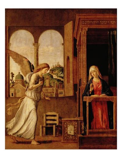 Annunciation Altarpiece-Bettmann-Giclee Print