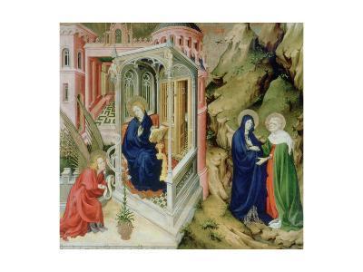 Annunciation and Visitation, 1394-1399-Melchior Broederlam-Giclee Print