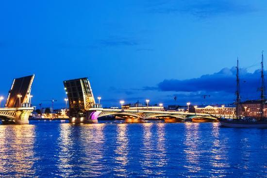 Annunciation Bridge in Saint-Petersburg-Ruslan_23-Photographic Print