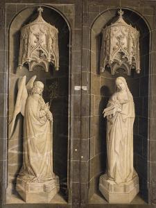 Annunciation, Burning Bush Triptych, 1475