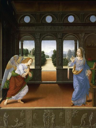 Annunciation, C.1480-Lorenzo di Credi-Giclee Print